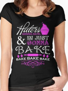 I'm Just Gonna Bake Women's Fitted Scoop T-Shirt