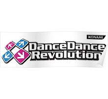 Dance Dance Revolution by Konami Poster