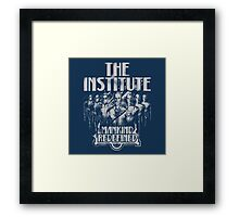 The Institute - Mankind Redefined G Framed Print
