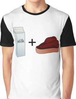 Milk Steak Graphic T-Shirt