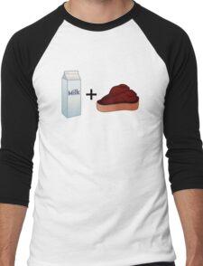 Milk Steak Men's Baseball ¾ T-Shirt