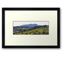 How green was my Costa Rican valley Framed Print