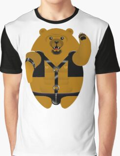 LEATHER LOVIN BEAR! Graphic T-Shirt