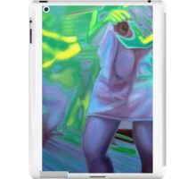 The photographer, 2011, 53-80cm, oil on canvas iPad Case/Skin