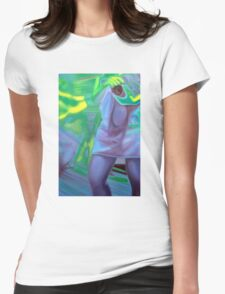 The photographer, 2011, 53-80cm, oil on canvas Womens Fitted T-Shirt