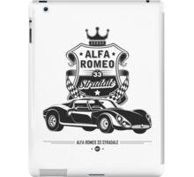 Alfa Romeo Stradale iPad Case/Skin