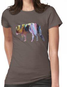 Civet cat Womens Fitted T-Shirt