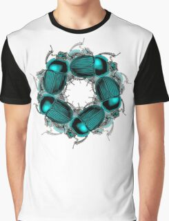 EGYPTIAN SCARAB Graphic T-Shirt