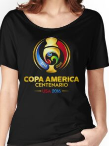 Copa America 2016 Women's Relaxed Fit T-Shirt