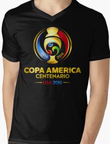 Copa America 2016 Mens V-Neck T-Shirt