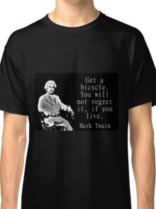 Get A Bicycle - Twain Classic T-Shirt