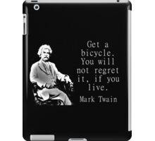 Get A Bicycle - Twain iPad Case/Skin