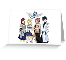 Fairy Tail Family Greeting Card