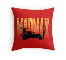 A madman called Max Throw Pillow