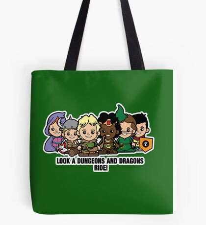 Lil Dungeons and Dragons Tote Bag