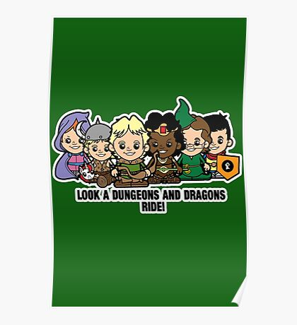 Lil Dungeons and Dragons Poster