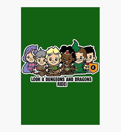 Lil Dungeons and Dragons Photographic Print
