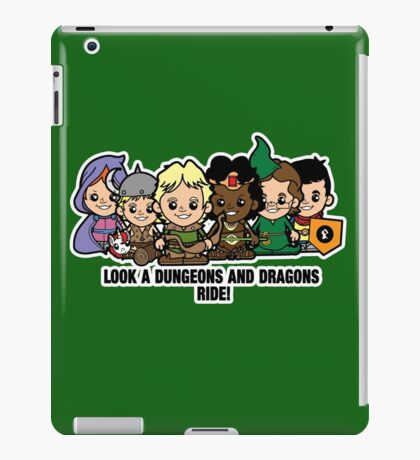Lil Dungeons and Dragons iPad Case/Skin