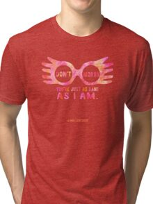 Harry Potter Luna Lovegood Graphic Design Tri-blend T-Shirt