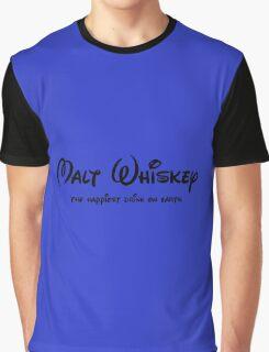 Malt Whiskey disney look-alike Graphic T-Shirt