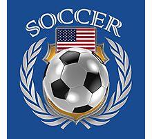 USA Soccer 2016 Fan Gear Photographic Print