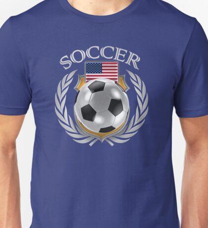 USA Soccer 2016 Fan Gear Unisex T-Shirt