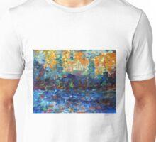 Color study after Signac, 90-70cm, oil on paper Unisex T-Shirt