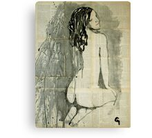 Naked figure.  Canvas Print