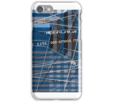 Data cubes, 2010, 100-70 cm, oil on canvas iPhone Case/Skin