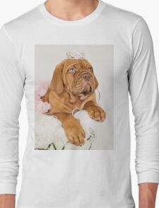 Dogue De Bordeaux Princess Puppy Long Sleeve T-Shirt