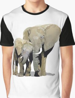 Elephant Love Graphic T-Shirt
