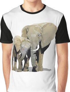 Elephant Love Graphic T-Shirt