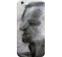 Human figure study nr3, 90-95cm, charcoal iPhone Case/Skin