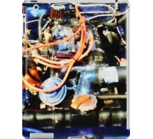 Under The Hood Abstract iPad Case/Skin