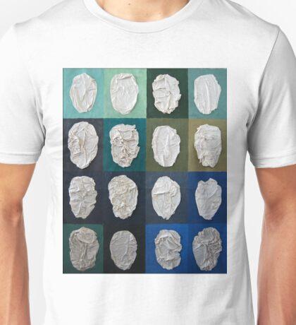 Mask, 2010, 100-100cm, collage Unisex T-Shirt