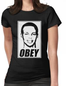 Stephen Curry - OBEY Womens Fitted T-Shirt