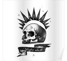 Chloe Price Misfit Skull Shirt (Affordable Tanktop version) Poster