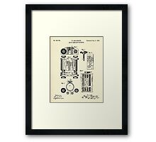 Art of Compiling Statistics-1889 Framed Print