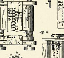 Art of Compiling Statistics-1889 Sticker