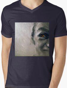 Snake eyes, 2010, 30-30cm, oil on cardboard Mens V-Neck T-Shirt