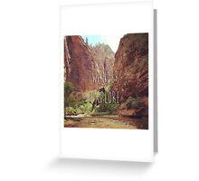 Wander&Explore Greeting Card