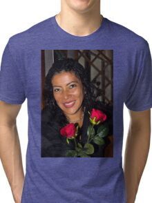 Lovely Lady 42 Tri-blend T-Shirt