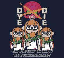 Splatoon - Dye or Die One Piece - Long Sleeve
