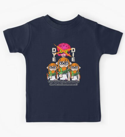 Splatoon - Dye or Die Kids Tee