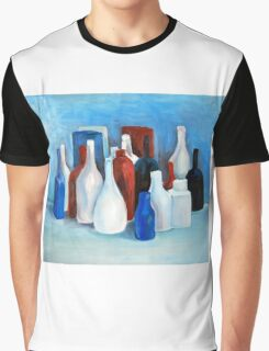 Study in 2 colors, 2010, 80-70cm, oil on paper Graphic T-Shirt