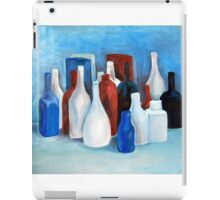 Study in 2 colors, 2010, 80-70cm, oil on paper iPad Case/Skin