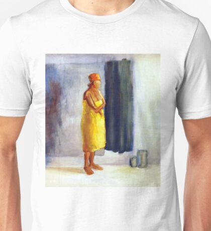 Yellow study, 2010, 100-80cm, oil on paper Unisex T-Shirt