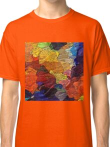 Colors and Shapes by rafi talby Classic T-Shirt