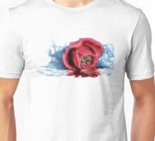 dripping rose Unisex T-Shirt
