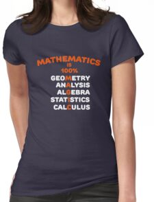 Math is Magic Womens Fitted T-Shirt